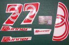Gilera Runner 7's Decals/Stickers SP, FX, FXR, VX, VXR, ST,